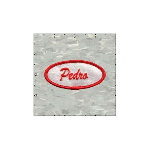 Name Tag Pedro Satin Patch
