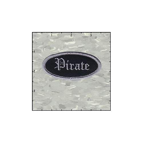 Name Tag Pirate Patch