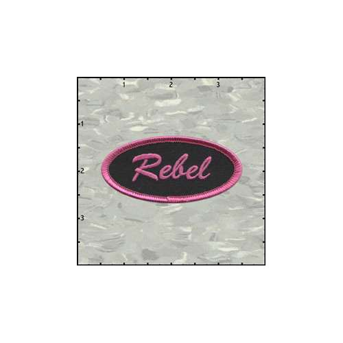 Name Tag Rebel Patch