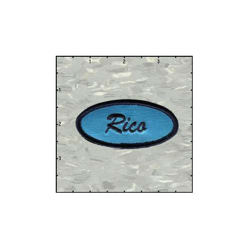 Name Tag Rico Satin Patch