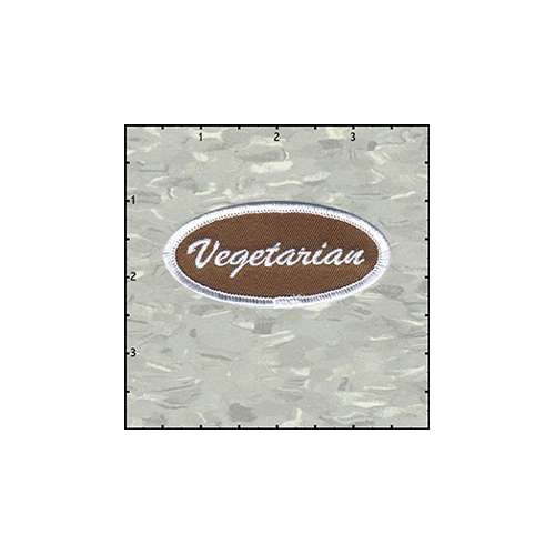 Name Tag Vegetarian Patch