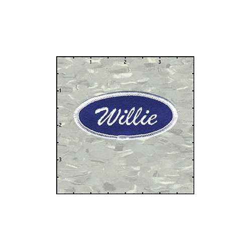 Name Tag Willie Patch