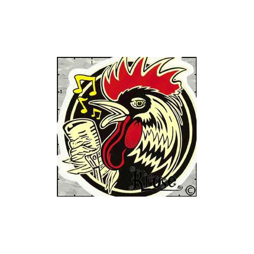 Kruses Rockabilly Rooster Patch