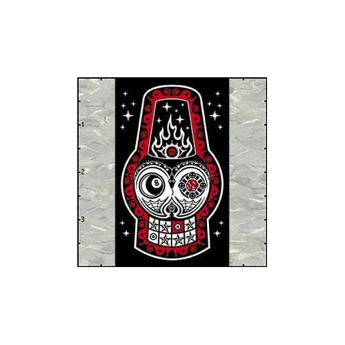 Chicovonspoons Fez Skull Patch