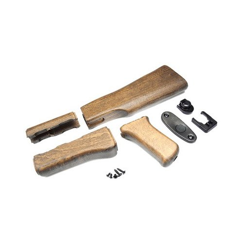 G&G RK47 Wood Stock Set For RK Series (Only)