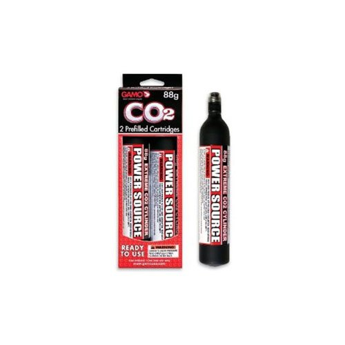 Gamo 88Gr CO2 Replacement Cartridge 2-Pack