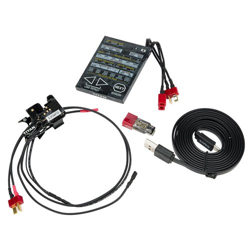 Titan Airsoft Advanced Drop-In AEG Mosfet Complete Set with Programming Card And USB-Link
