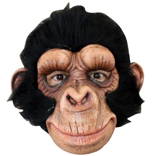 Chimp Primate Halloween Mask