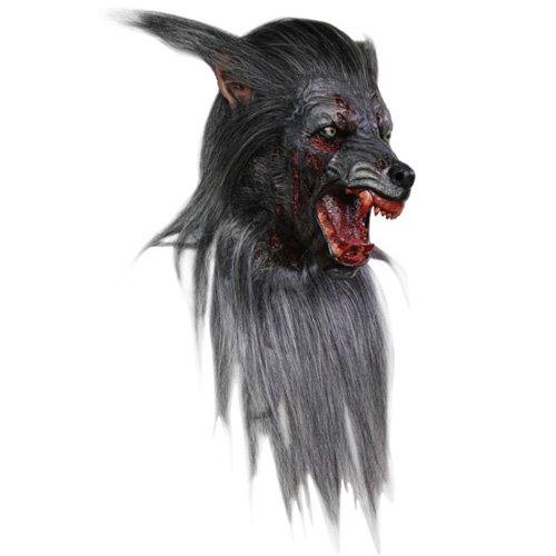 Bloody Werewolf Halloween Mask