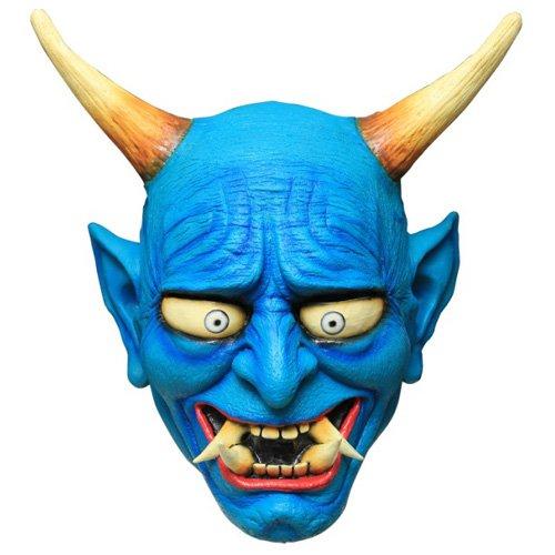 Blue Oni Ogre Mask