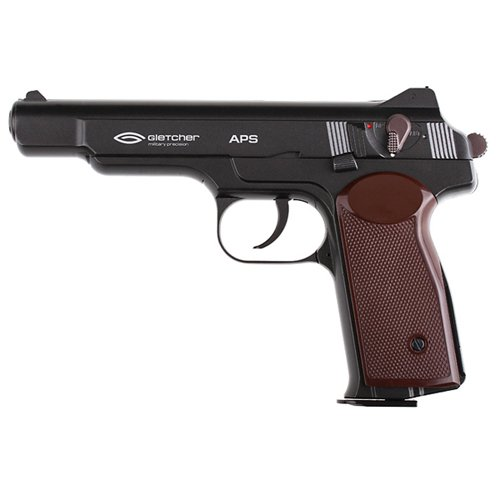 Gletcher 4.5 Mm Steel BB Soviet CO2 Pistol