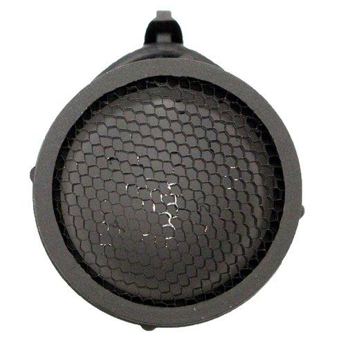 Black Perforated Scope Cap - Round