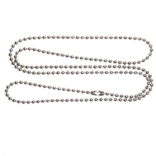 Beaded Stainless Steel Chain