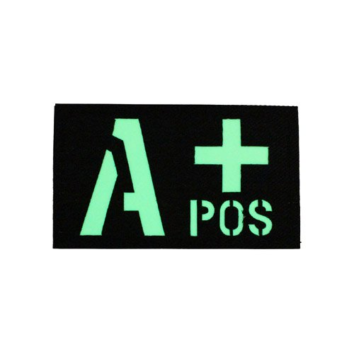 Glow in the Dark A+ Positive Patch