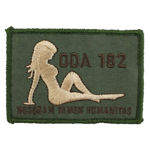 ODA 182 Girl Moral Patch