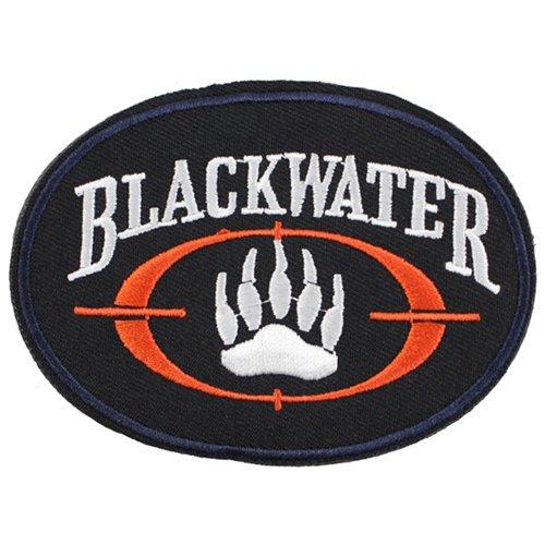 Black Water Logo Moral Patch