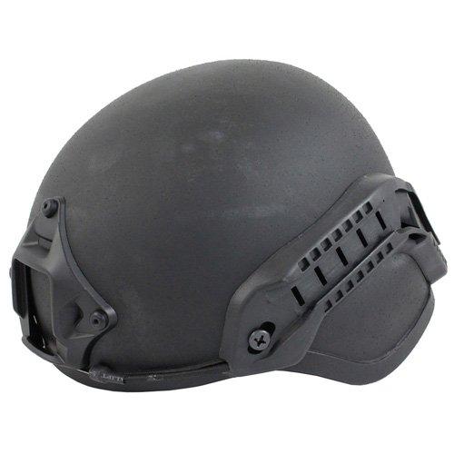 Gear Stock MICH 2000 Side Rail NVG Mount Helmet