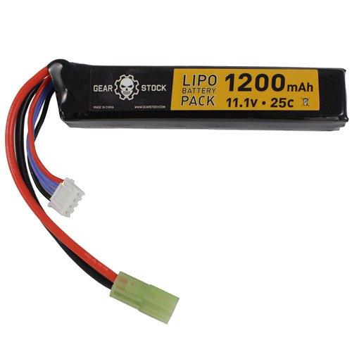 Stick Style 11.1V 1200mAh 25C LiPo AEG Battery