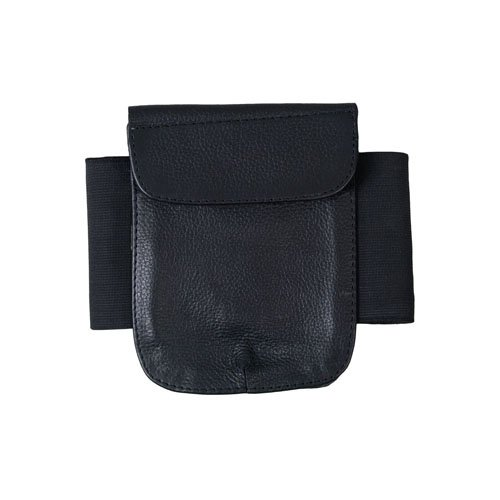 Black Extremity Leather Money Pouch