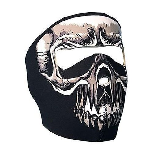Evil Skull Neoprene Face Mask