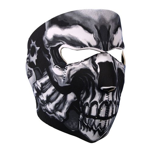 Assassin Black Face Mask