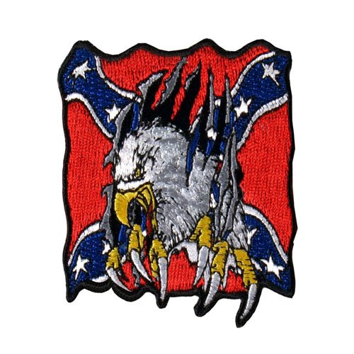 Rebel Embroidered Rider Eagle Patch