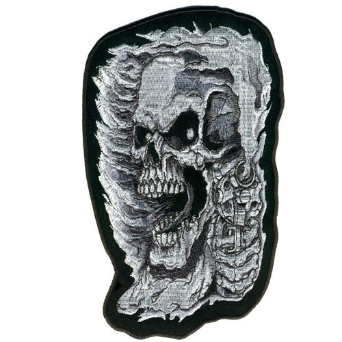 Assassin Skull Embroidered Patch