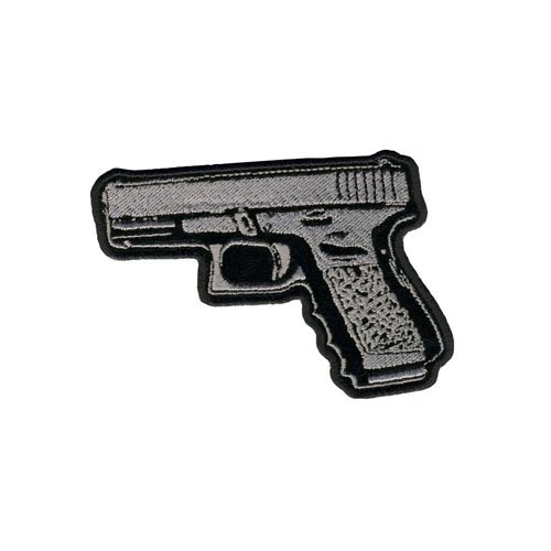 Pistol Embroidered Patch
