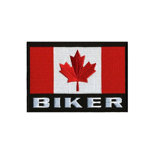 5W X 4H Canadian Multi Biker Flag