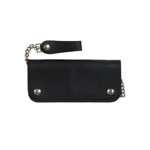 Bifold 6 Pocket Naked Leather Wallet