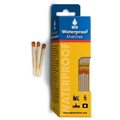 Industrial Revolution MT-WAT-4PK Waterproof Matches