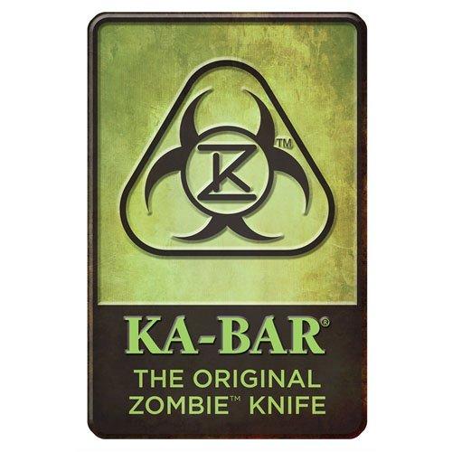 Ka-Bar The Original Zombie Knife Sign