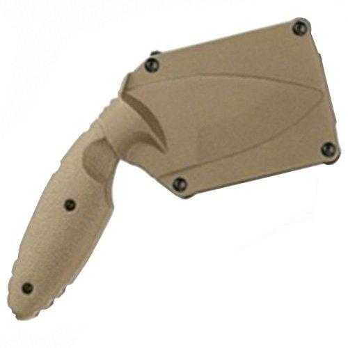 Ka-Bar TDI Law Enforcement Zytel Handle Fixed Knife - Coyote Brown
