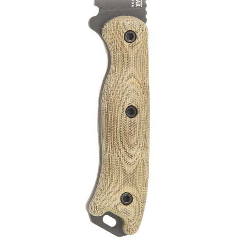 Ka-Bar Becker Short Scales Texture Micarta Handle