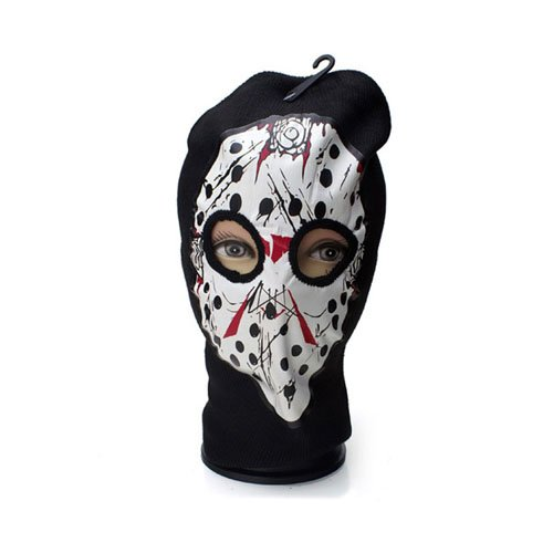 Hockey Print Beanie Mask