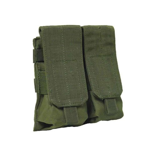 Olive Drab M 4 M16 Double Mag Pouch