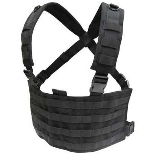 Black Tactical Chest Rig