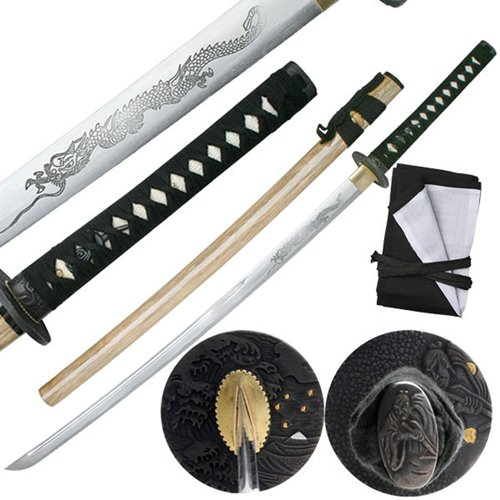 Ten Ryu MC-3054 28.3 Inch Blade Samurai Sword