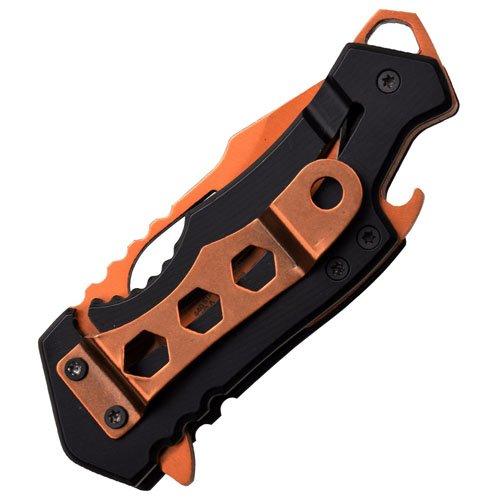 Mtech USA Folding Knife - Orange Handle