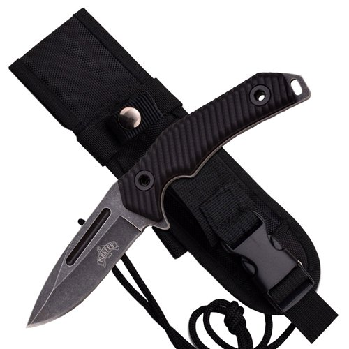 Master USA 8.25 Inch Overall Fixed Knife w/ Sheath