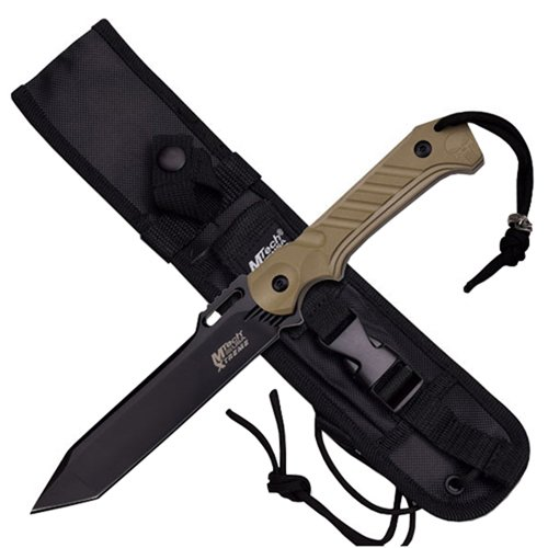 MTech USA Xtreme 11 Inch Overall Tactical Fixed Knife