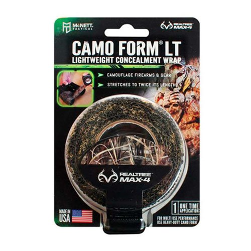 Mcnett 19320 Lightweight Realtree Max4 Camo Form