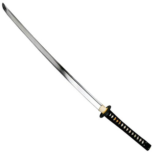 Tenryu Handforged Samurai Sword - Crane Tsuba