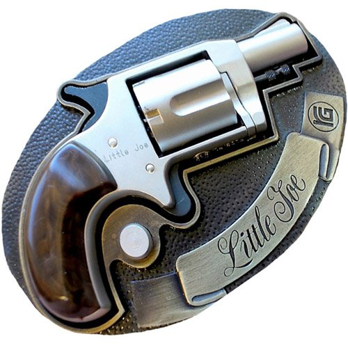 Little Joe 6mm Belt Buckle Blank Gun
