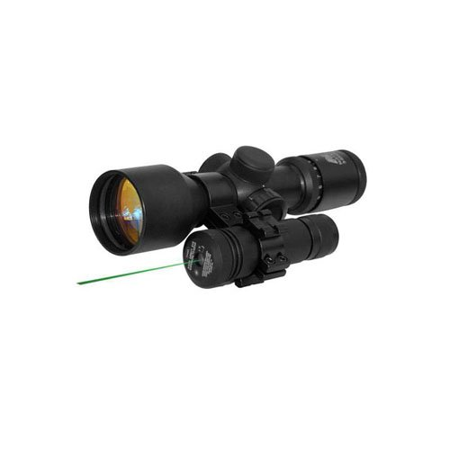 Ncstar Green Laser With 1 Inch Scope Mount