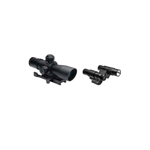 Ncstar Total Targeting System 4X32 Mil-Dot Scope Green Laser Flashlight