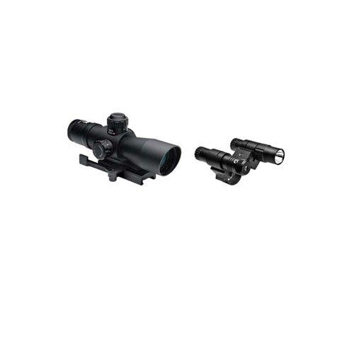 Ncstar Total Targeting System 3-9X42 P4 Sniper Scope Green Laser Flashlight