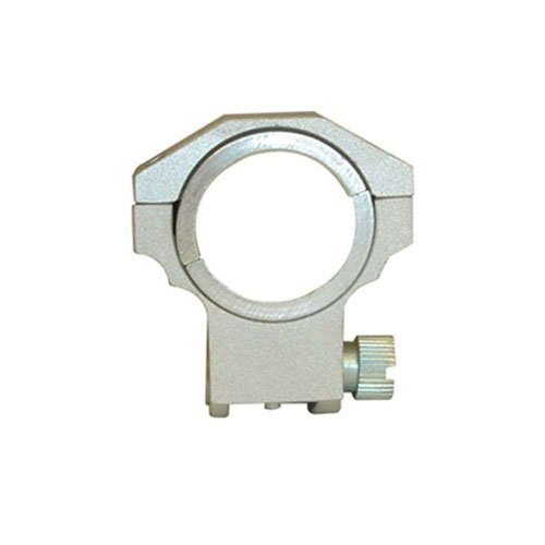Ncstar 30Mm Silver 1 Inch High Ruger Ring