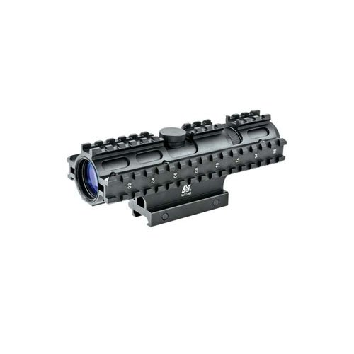 Ncstar Tri-Rail Series 2-7X32 Rangefinder Compact Rifle Scope