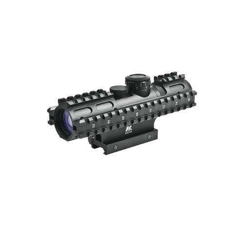 Ncstar Tri Rail Series 2-7X32 Compact Rangefinder Rifle Scope